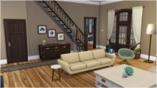 Entry from living room